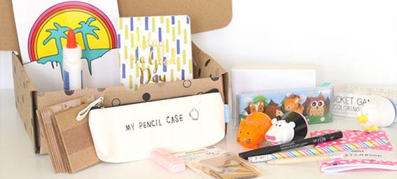 Kits créatifs et papeterie
